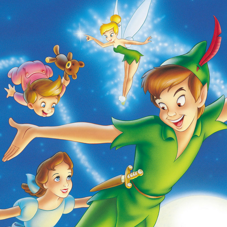 It is a photo of Zany Peter Pan Picture